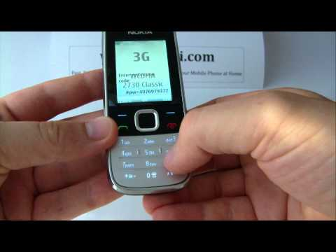 Nokia 2730 Classic Unlock &amp; input / enter code