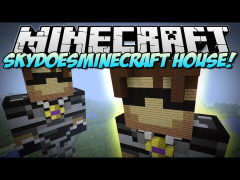 Minecraft | SKYDOESMINECRAFT HOUSE! | Build Showcase