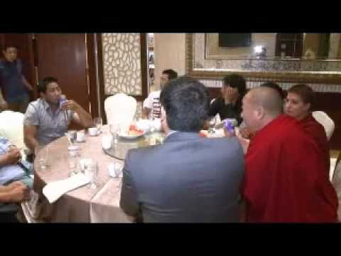 Tibetan Public Talk, June 2012, Talk about how Shugden practitioners are defamed by other Tibetans
