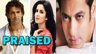 Salman Khan praises Katrina Kaif and Hrithik Roshan | Bollywood News