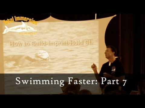 TI Swimming Faster Presentation Part 7 - Speed by the Numbers: Count Stokes, Not Yards