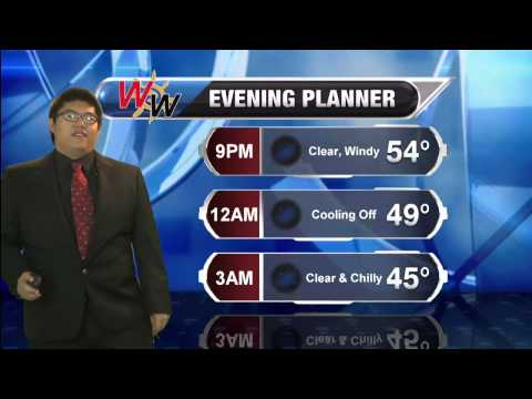 10/25 Saturday Evening Forecast