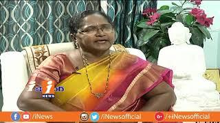 TDP MLA Uppuleti Kalpana Exclusive Interview | iCounter | iNews - INEWS
