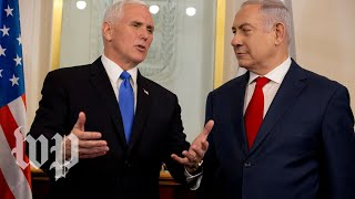 Pence and Netanyahu deliver joint remarks - WASHINGTONPOST