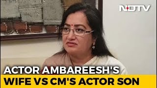 Mandya Set For Cinematic Clash As Ambareesh's Wife Announces Candidature - NDTV