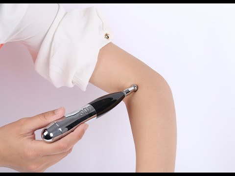 Electrical Acupuncture Pen for Pain Relief and Healthcare