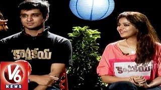 Karthikeya Nikhil, Swathi Diwali special chit chat with v6 - V6NEWSTELUGU