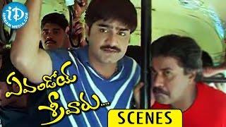 Evandoi Srivaru Movie Scenes || Nikita Thukral, Sunil, Srikanth Nice Scene - IDREAMMOVIES