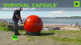 Survival Capsule: Engineers make floating capsule to withstand natural disasters - RUSSIATODAY