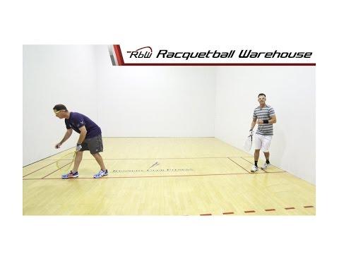 Racquetball Doubles: Serves