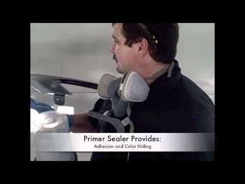 DIY (Car Painting)  - Lesson On How To Spray Primer Sealer and Base Coat Paint YouTube HD Video
