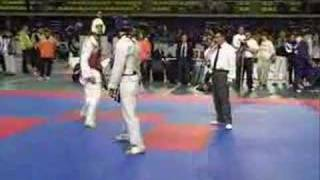 Taekwondo hollanda maçı 1