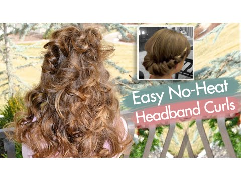 Headband Curls | Easy No-Heat Curls