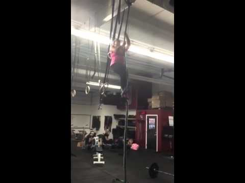 Pocket first rope climb