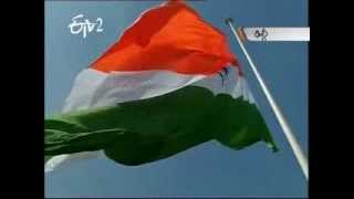 Largest national flag in the country hoisted in Delhi - ETV2INDIA