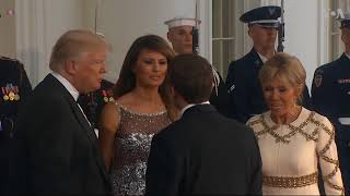 Trumps Welcome Macrons for First State Dinner - VOAVIDEO