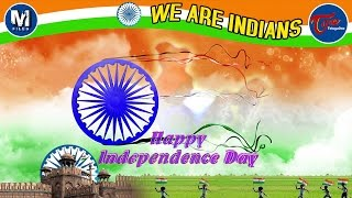 WE ARE INDIANS   Independence Day 2016 Special   Telugu Music Video   by Sashi Preetam - TELUGUONE