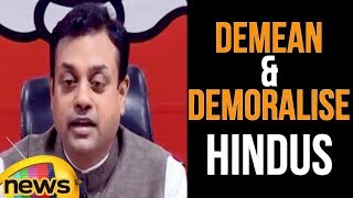 Sambit Patra Says Ghulam Nabi Azad is an another attempt to Demean and demoralise Hindus | MangoNews - MANGONEWS