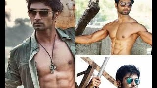 "Atharva's Six Pack look in ""Irumbu Kuthirai"""
