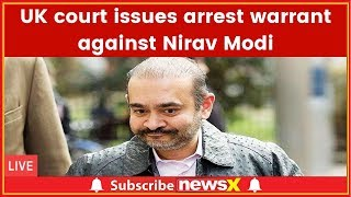 UK Westminster court issues arrest warrant against economic offender Nirav Modi involved in PNB Scam - NEWSXLIVE
