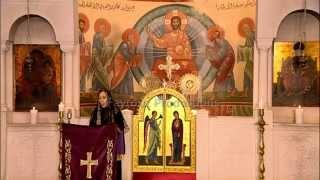 بالفيديو  فيروز تعود بترنيمة جديدة من داخل الكنيسة