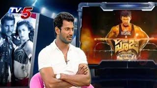 Vishal Poojai Movie Success Secrets Sharing with TV5 News - TV5NEWSCHANNEL