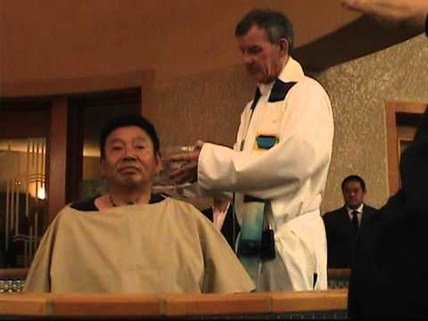 2014 Catholic RCIA Class Baptism at Easter Vigil - Part 4/4