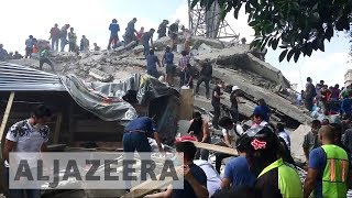 More than 100 dead as 7.1 earthquake rocks Mexico - ALJAZEERAENGLISH