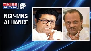 'Gathbandhan' takes shape in Maharashtra, NCP 'woos' MNS for Lok Sabha Polls - TIMESNOWONLINE