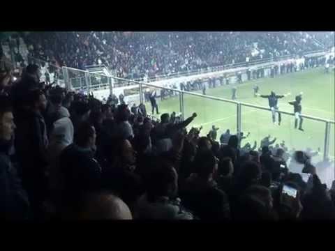 2014/15, ΟΦΗ - ολυμπιακός 0-3 γαύροι μουνιά, βάλτε φωτιά και στα πανιά