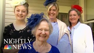 Excited Americans Travel To U.K. For Royal Wedding | NBC Nightly News - NBCNEWS