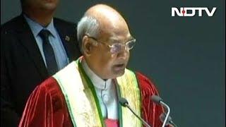 कठुआ रेप मामले पर राष्ट्रपति कोविंद ने जताया दुख - NDTVINDIA