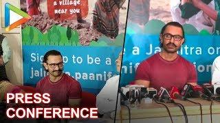 Aamir Khan's Press Conference for Mahashramdan at Symbiosis College, Pune - HUNGAMA