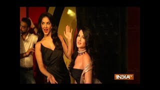 Sunny Leone unveils her wax statue - INDIATV