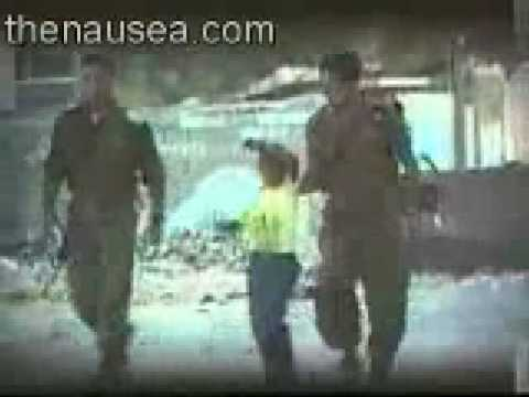 Israeli soldiers beat a palestinian child -0VQ6smL0_Uw
