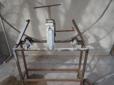 Maquina dobladora de tubos