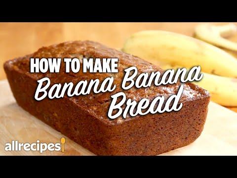 How to Make Banana Banana Bread