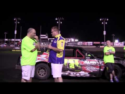 Andrew Burg Hobby Stock Feature winner 07/19/14
