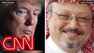 Ward: Trump is saying US doesn't care about Khashoggi murder - CNN