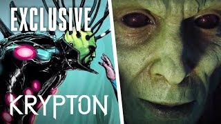 KRYPTON | First Look at KRYPTON's Brainiac | SYFY - SYFY