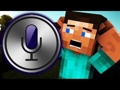 SEXY and ANGRY Siri ON MINECRAFT! (Minecraft Voice Trolling)