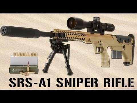 SRS-A1 Sniper Rifle by Desert Tactical Arms | SHOT Show 2013