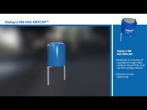 New This Week at Mouser Electronics – Vishay 196 HVC ENYCAP™ Capacitors