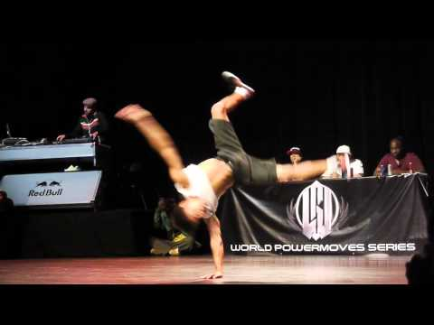 World Powermove Series 2012 - bboy Hill VS bboy Boby