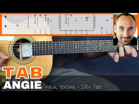 "Video-Tab ""Angie"" - MLR-Guitar Lessons"