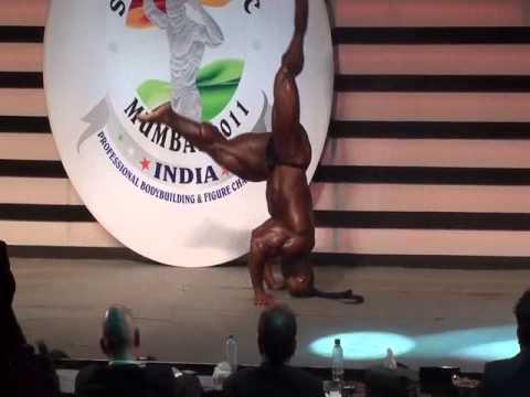 Kai Green 2011 Sheru Classic 2011 Mumbai India bodybuilding