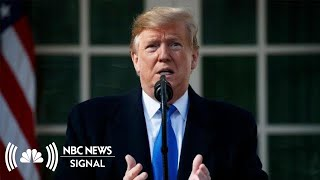 Where Will President Donald Trump Get His National Emergency Funding? | NBC News Signal - NBCNEWS