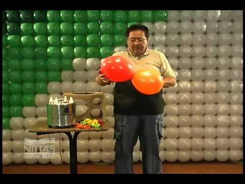 Decoração com Balões - Nível Básico