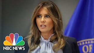 Melania Trump Condemns 'Harmful And Destructive' Effects Of Social Media | NBC News - NBCNEWS