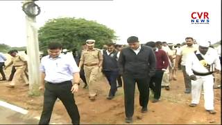 Karimnagar District Collectors & CP Visits President Ram Nath Kovind Helicopter Landing Place | CVR - CVRNEWSOFFICIAL